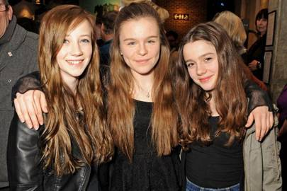Emily Lane, Anna Devlin and Polly Dartford