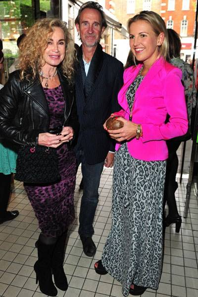 Angie Rutherford, Mike Rutherford and Hanneli Rupert