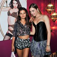 Bip Ling and Amber Le Bon