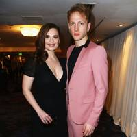 Hayley Atwell and Evan Jones