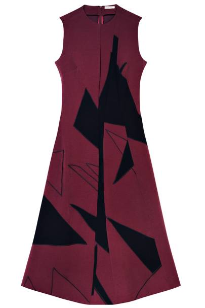 Dress, £1,920, by Bottega Veneta