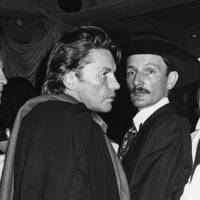 Helmut Berger and Jacques de Basche