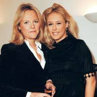 Alison Poole and Lady Alexandra Spencer-Churchill