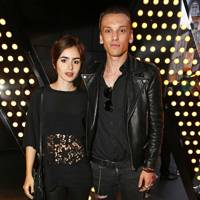 Lily Collins and Jamie Campbell-Bower