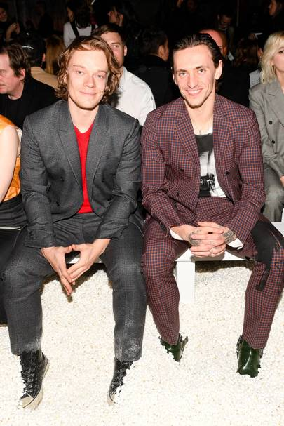 Alfie Allen and Sergei Polunin