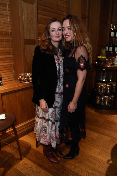 Lucy Yeomans and Alice Temperley