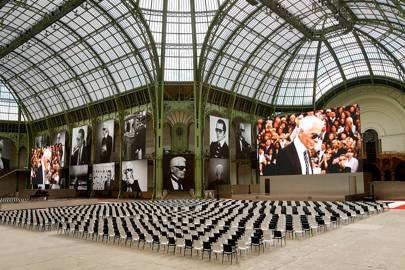 Karl Lagerfeld remembered in Paris at star-studded memorial