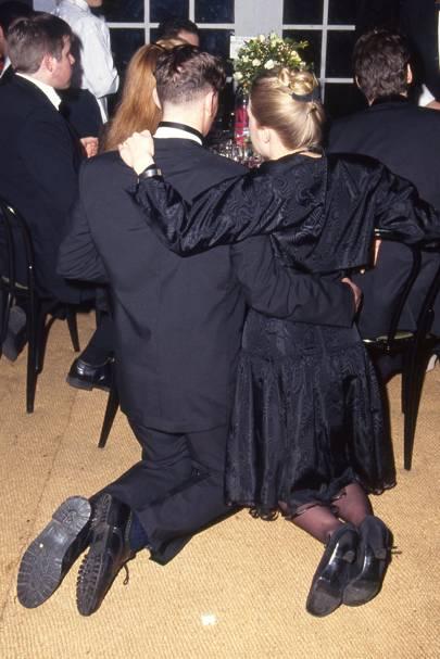 Dominic Brunt and Penelope Woodman