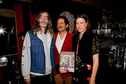 Fergus Purcell, Amir Farman-Farma and Nathalie Farman-Farma