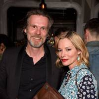 Reinhard Mieck and Sienna Guillory