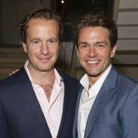 Geoffrey Streatfeild and Julian Ovenden