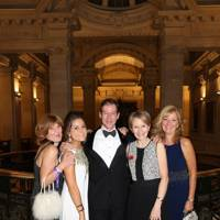 Sue Coley, Charlotte Berg, Michael Richardson, Georgina Berg and Kay Scarisbrick