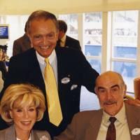 Mrs Wafic Said, Wafic Said and Sean Connery