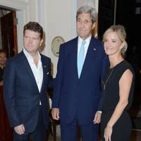 Matthew Barzun, John Kerry and Brooke Barzun