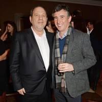 Harvey Weinstein and Steve Coogan