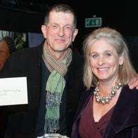 Sir Antony Gormley and Rebecca Spicer