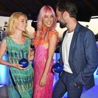 Clara Paget, Amber Le Bon and Jack Guinness