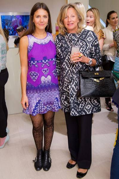 Margherita Missoni and Chantal, Princess of Hanover