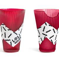 Edible cherry cups