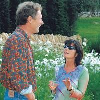 John Parry and Mrs Terence Faulkner