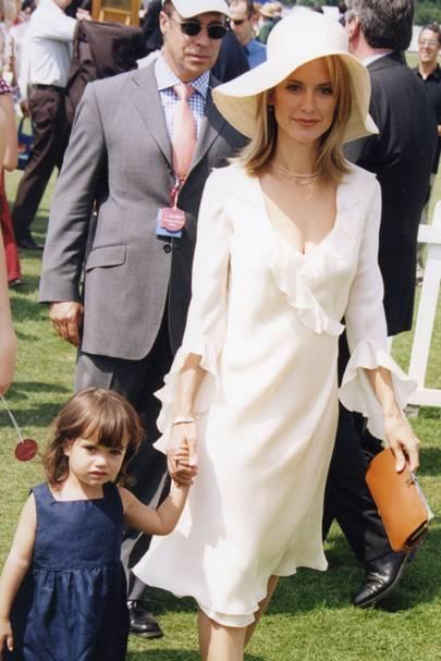 Ella Bleu Travolta and Mrs John Travolta