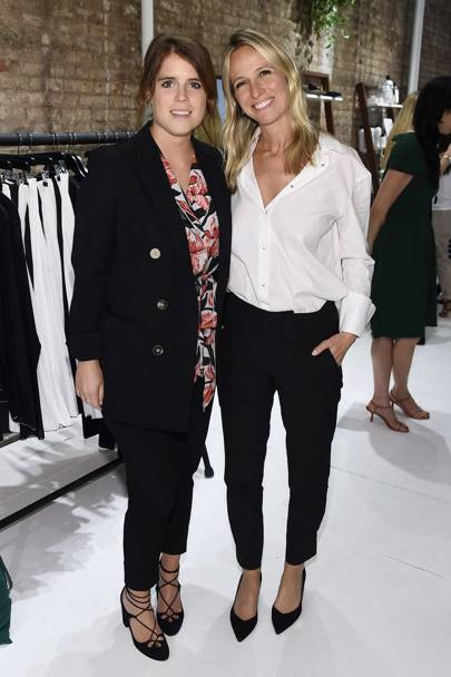 Princess Eugenie just made an appearance at New York Fashion Week