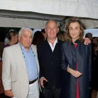 Robert Albert, Simon Schama and Alice Sherwood