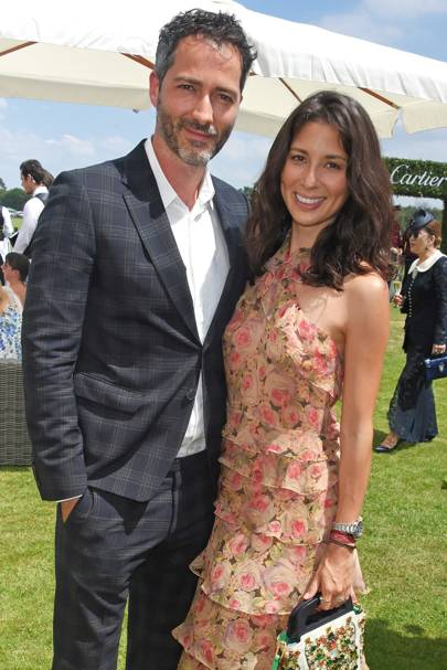 Nick Hopper and Jasmine Hemsley