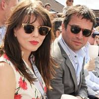 Ophelia Lovibond and James Purefoy