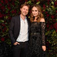 Christopher Bailey and Lily James