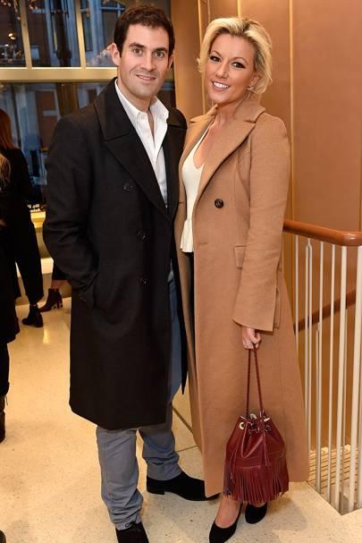Zafar Rushdie and Natalie Coyle