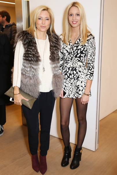 Princess Marie-Chantal and Princess Olympia of Greece