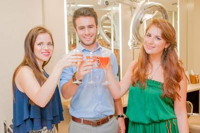 Francesca Specter, Alex Sherrick and Zoe Abrahams