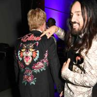 Sir Elton John and Alessandro Michele