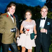 Monty Lowry Corry, Louise Courtney and Henry Lakin