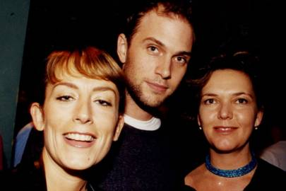 Fay Ripley, Daniel Lapain and Tacina Smith