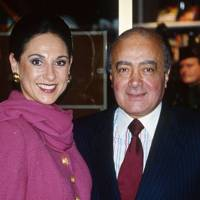 Mrs Gerald Ronson and Mohamed Al-Fayed