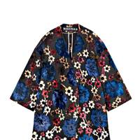 Silk & rayon coat, £4,566, by Rochas