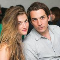 Grace Gummer and Jamie Johnson