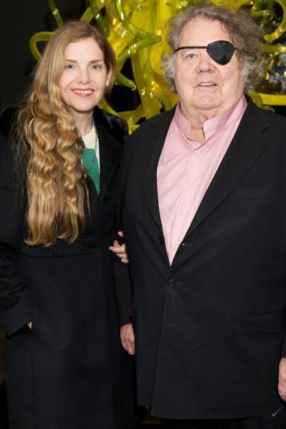 Leslie Jackson and Dale Chihuly