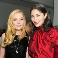 Clara Paget and Caroline Issa