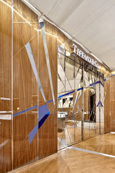 The Tiffany & Co. boutique in Selfridges