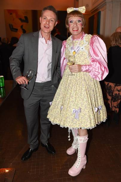 Tim Marlow and Grayson Perry