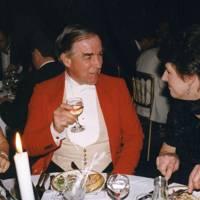 Peter Jones-Davies and Mrs Simon Stewart