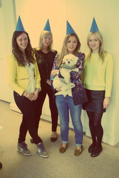 Olivia Mee, Denise Elphick, Anna Hart and Camilla Elphick
