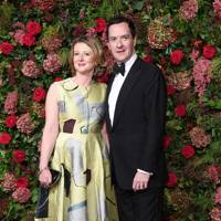 Frances and George Osborne
