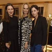 Emilia Wickstead, Lauren Santo Domingo and Mary McCartney