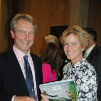 Owen Paterson and Rose Paterson