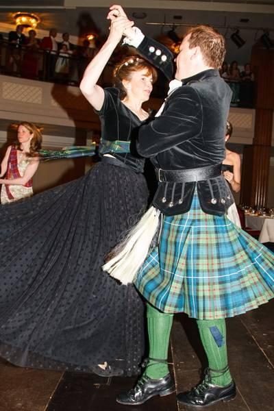 Lady Emma Mahmood and Houston Morris