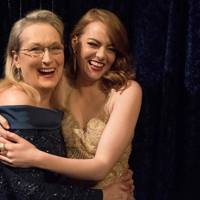 Meryl Streep and Emma Stone